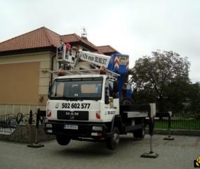 Usługi dźwigowe | EHC Kraków