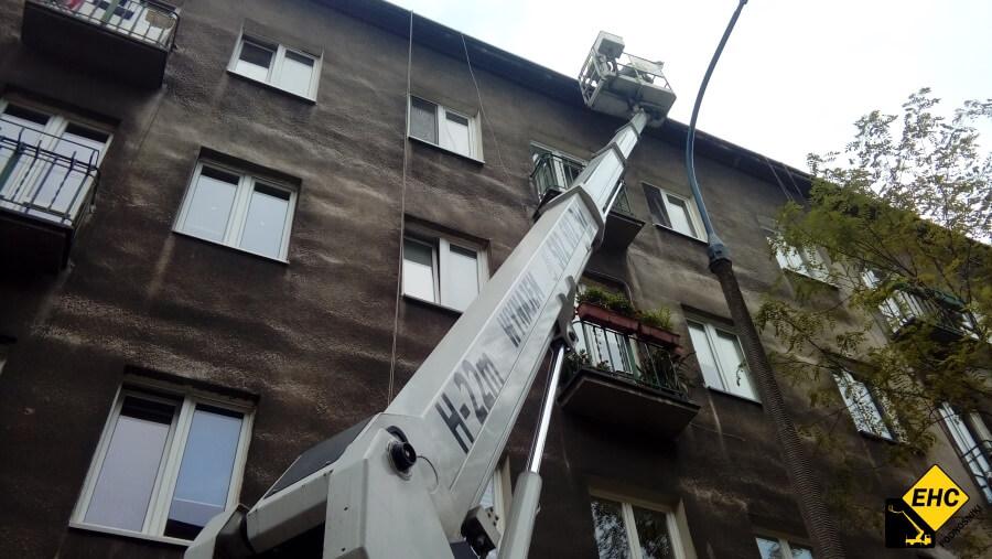 Usługi wysokościowe w Krakowie - czyszczenie rynien