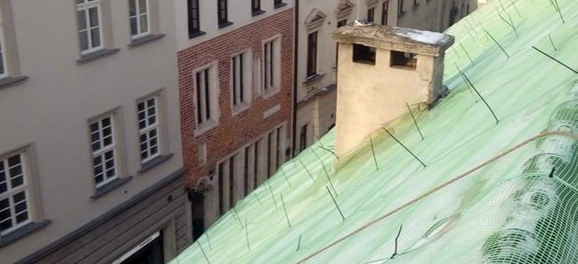 dlaczego warto montować siatkę na dachu