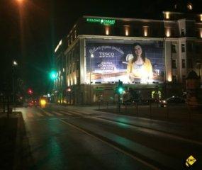 Montaz reklam na wysokosci Krakow