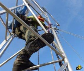 Prace wysokosciowe z dostepu alpinistycznego