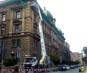 Prace wysokosciowe z podnosnika Krakow