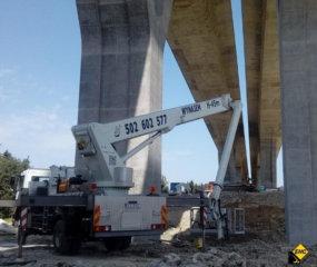 Zwyzka do prac mostowych