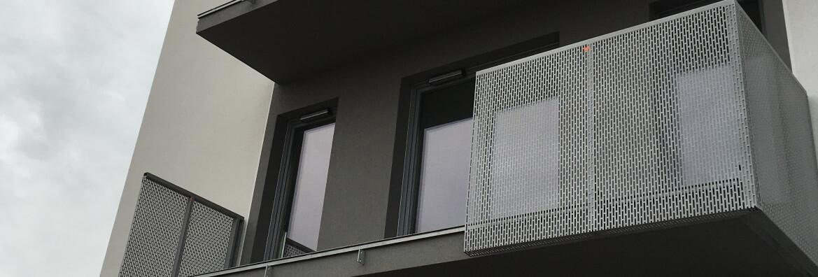 Balustrada montowana ze zwyzki