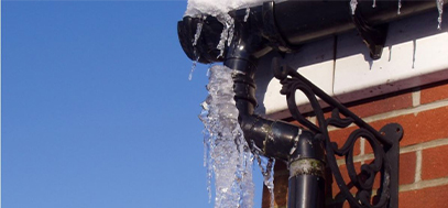 rynny zagrożenia zimą